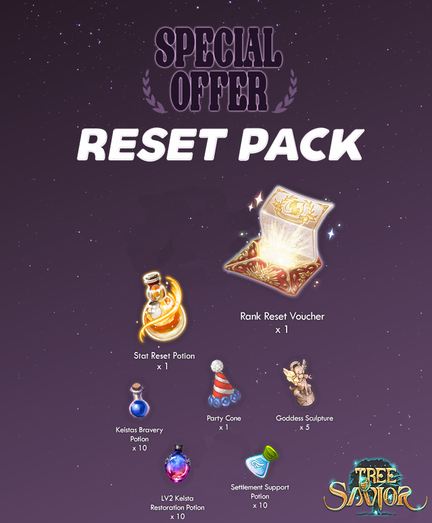 Tree-of-Savior-Reset-DLC-pack