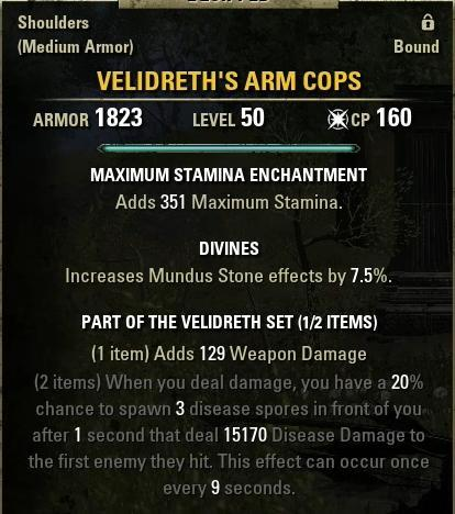 Velidreth's Arm Cops