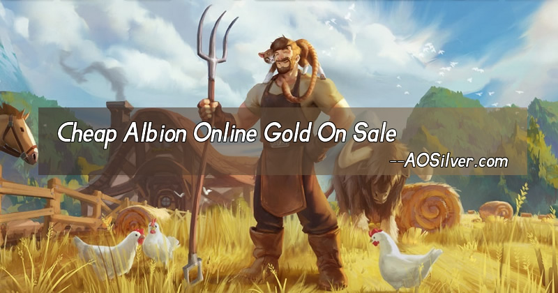 Enjoy the New Albion Online Game with AOSilver Albion Gold