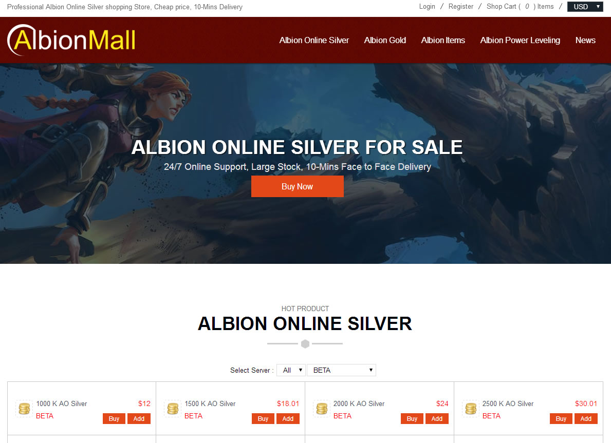Albionmall game store
