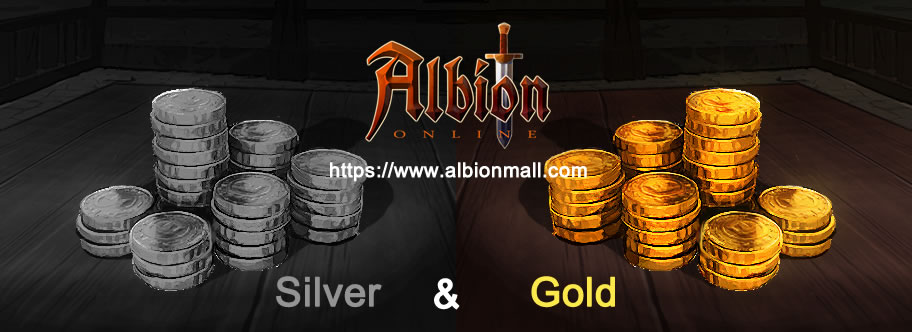 Albion Online silver and gold