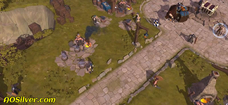 "What is the ""Downgrading Buildings"" in Albion Online"