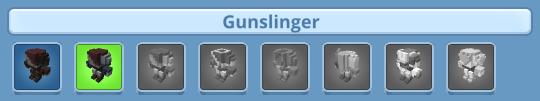 r4pg Costumes gunslinger
