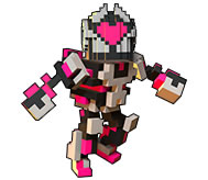 trove  Neon Ninja Heartbleed Costume