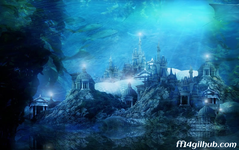 The Amazing Underwater Residential in FFXIV 4.0