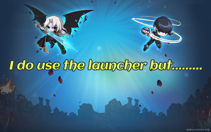 The Poor Launcher of MapleStory