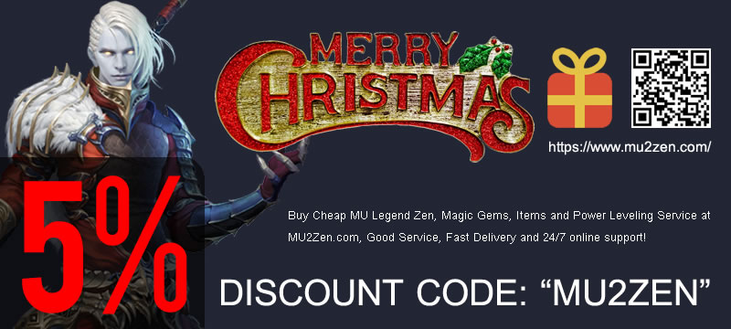 MU2ZEN.com 2016 christmas and new year discount code