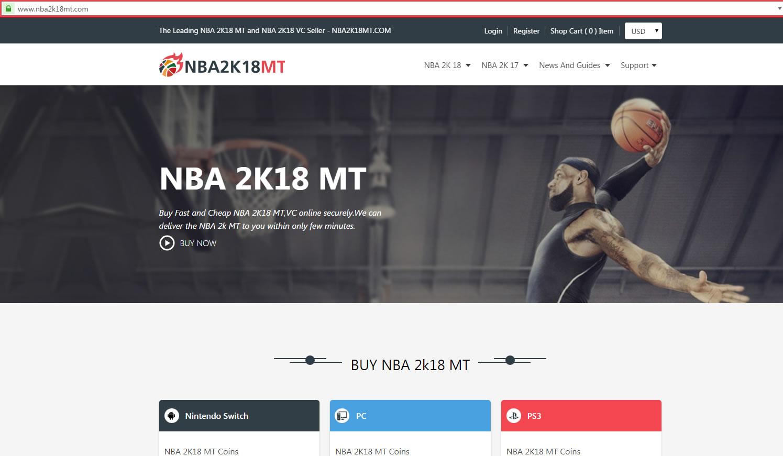NBA2K18MT Website