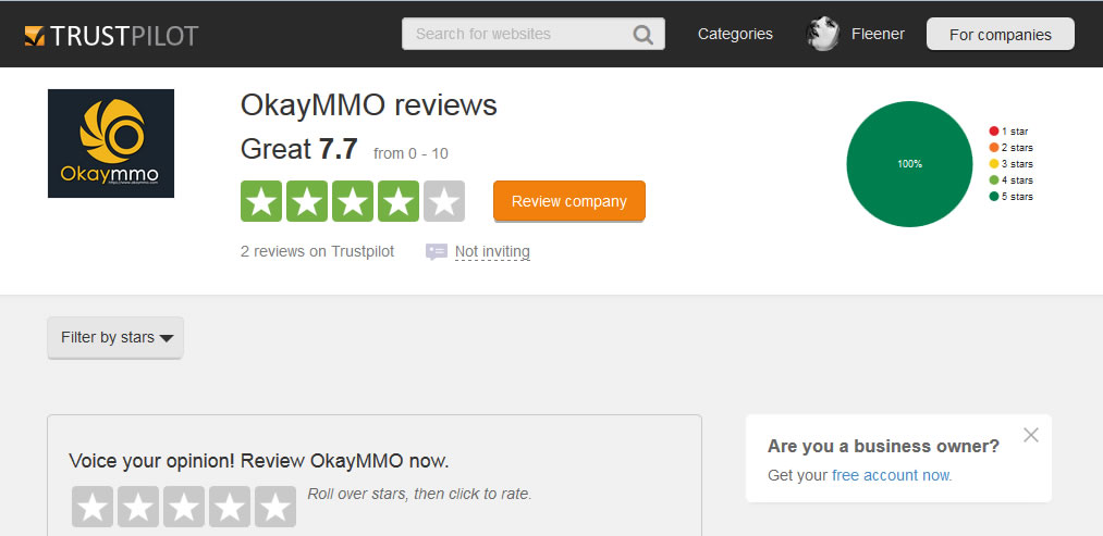 okaymmo Trustpilot Reviews