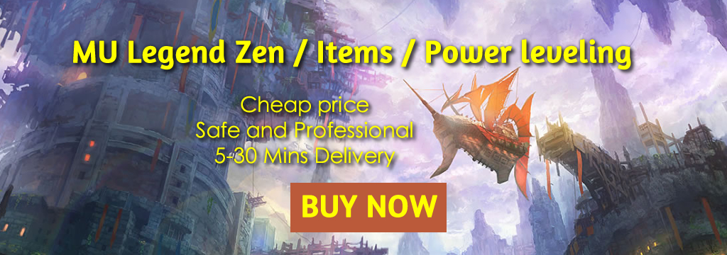 Buy cheap MU Legend Zen and Item In R4PG.com