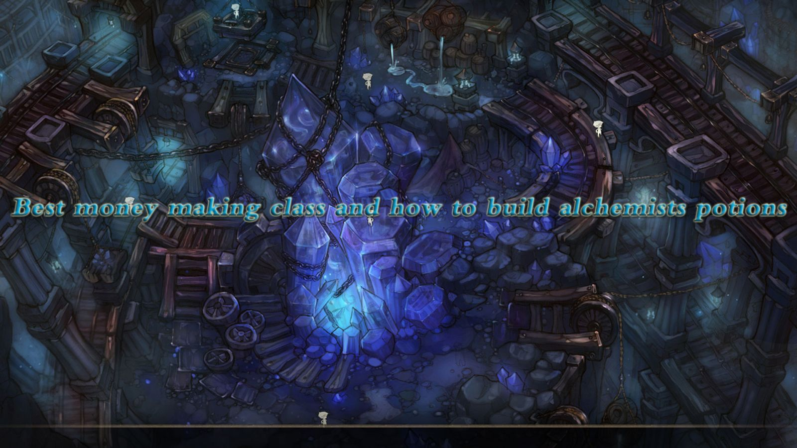 Best money making class and how to build alchemists potions