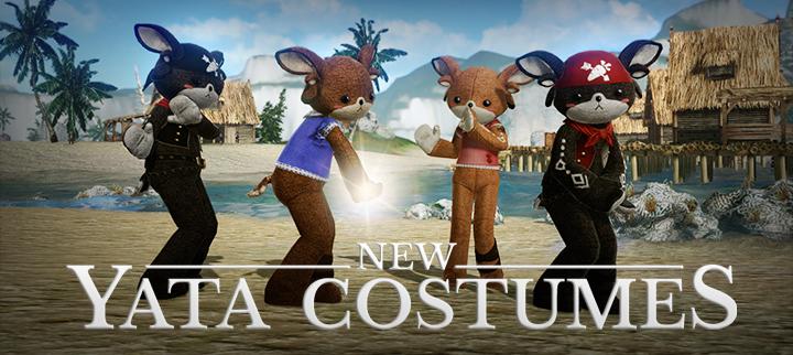 Marketplace Update: Yata Costumes Jump into ArcheAge