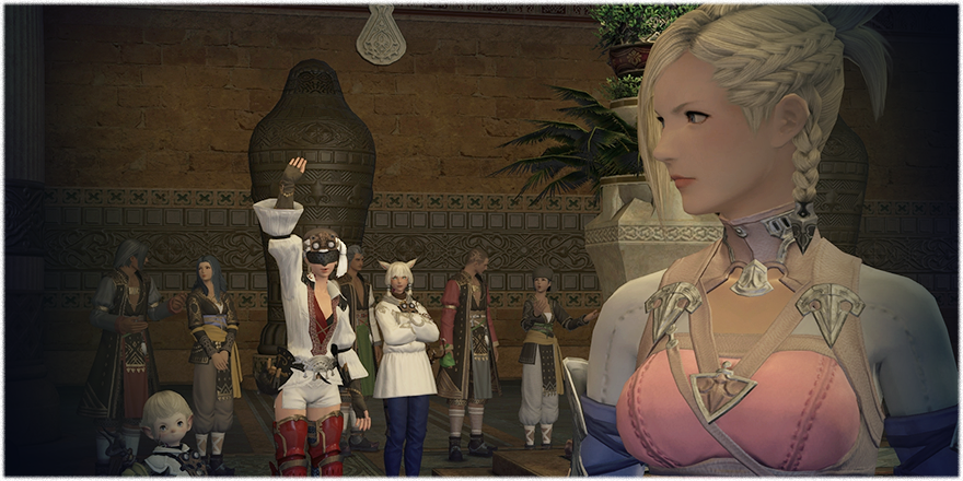 FINAL FANTASY XIV Before the Fall