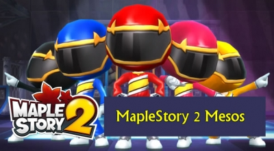 what is the function of maplestory 2 mesos