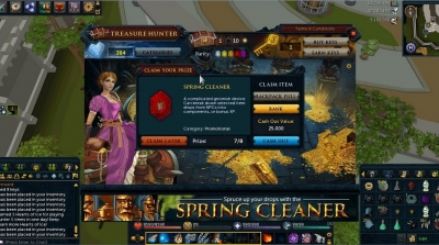 spring cleaner and springs runescape wth