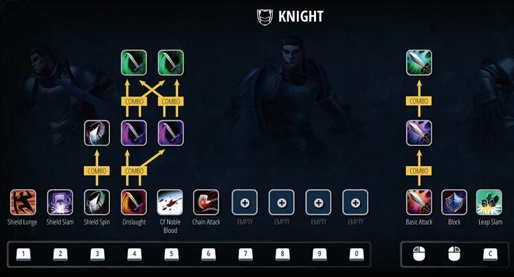 Crowfall FIRST LOOK: KNIGHT POWERS AND UI