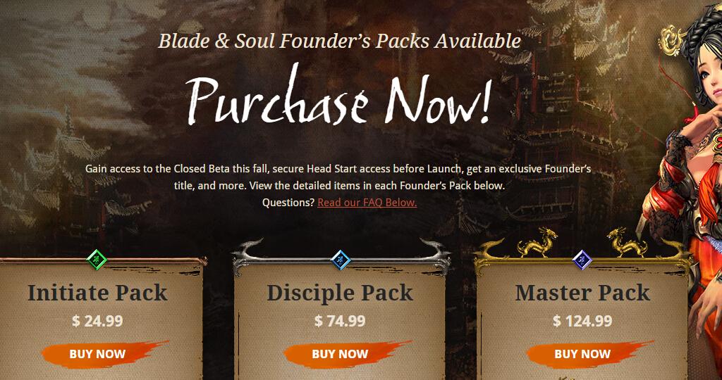 Blade and Soul Premium Membership & Premium Points