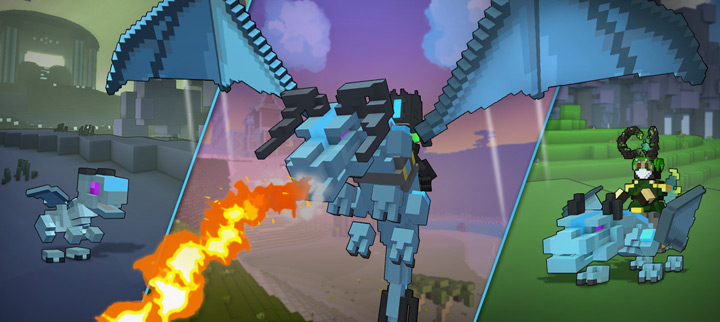 Trove Dragons and Badges and Challenges