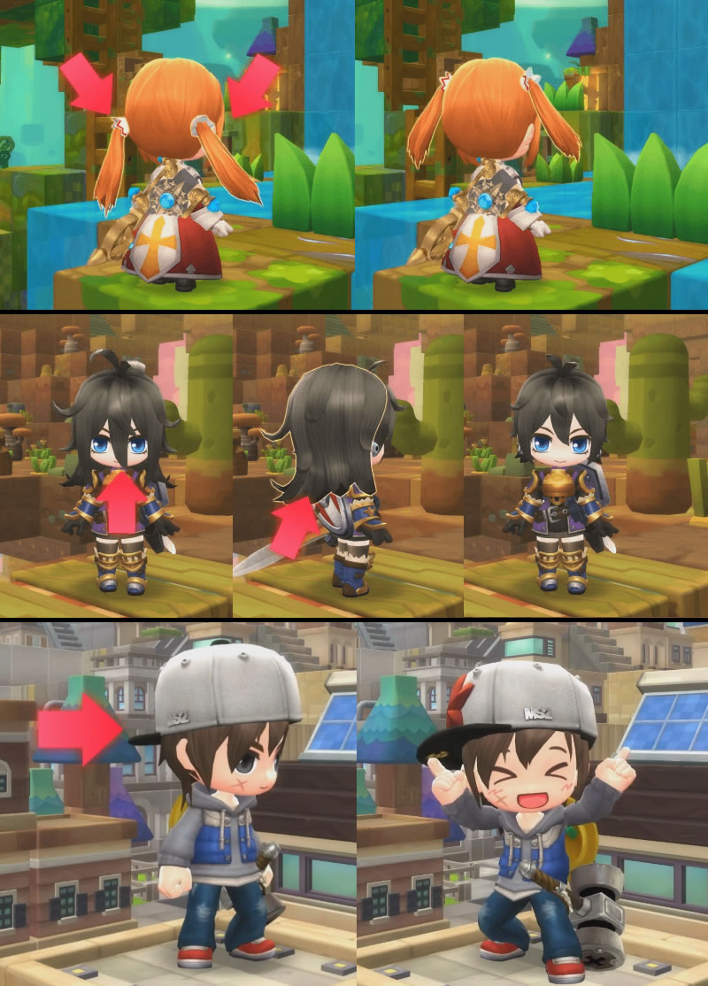 MapleStory 2 Outfits, items and hair Guides