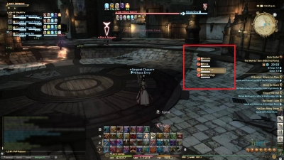 In a single target rotation on a boss FFXIV Dark Knight is the most