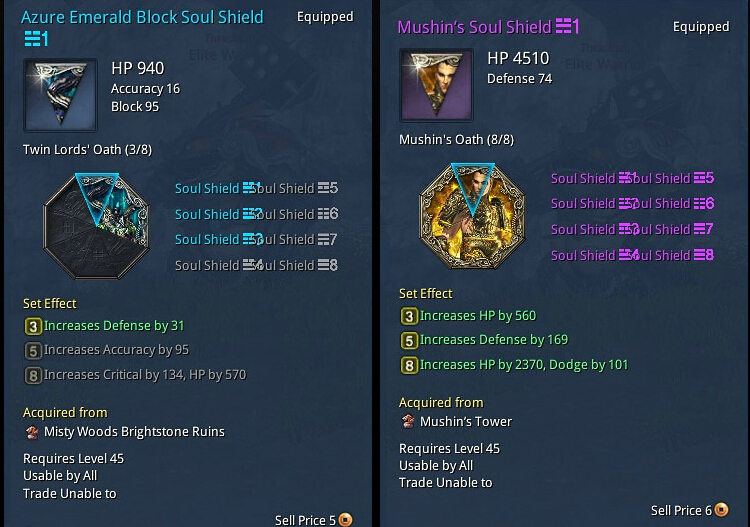 Soul Shield Of Blade and Soul
