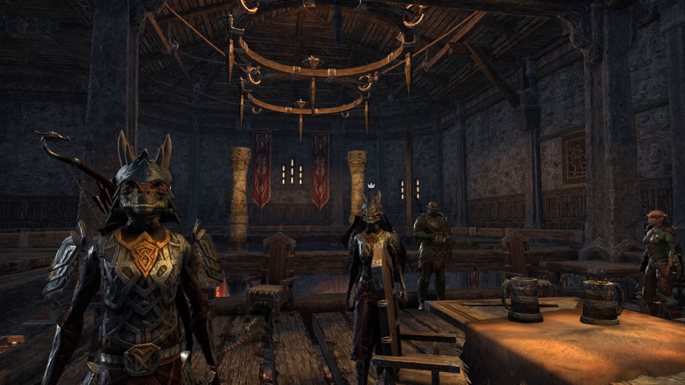 ESO - The Disadvantage of Skinny Characters