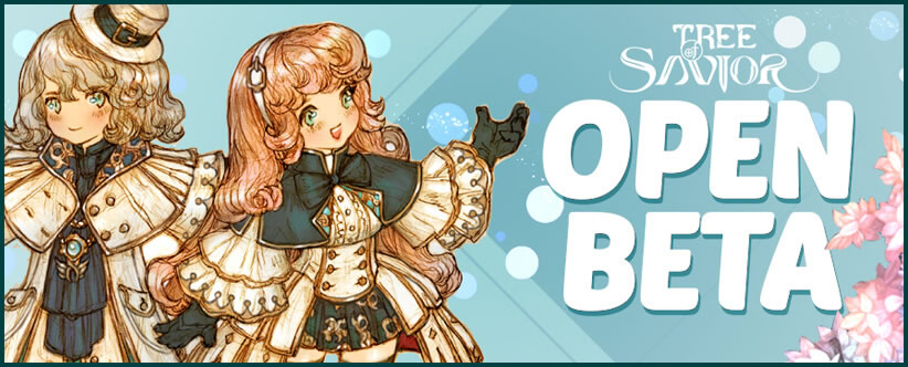 The Open Beta for Tree of Savior will be coming soon