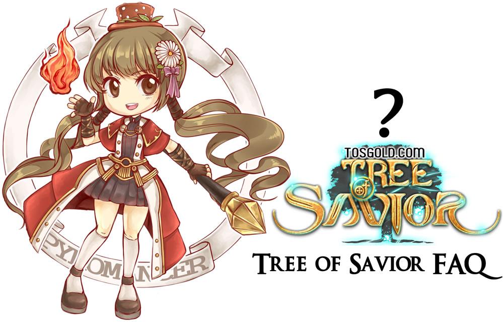 Tree of Savior FAQ Organize