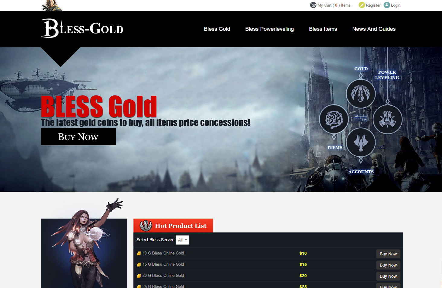 About Bless-Gold.com