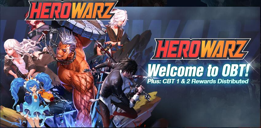 HeroWarz OBT Can Download and Play Now