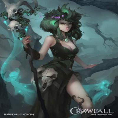 Most of your progression will be made in Crowfalls