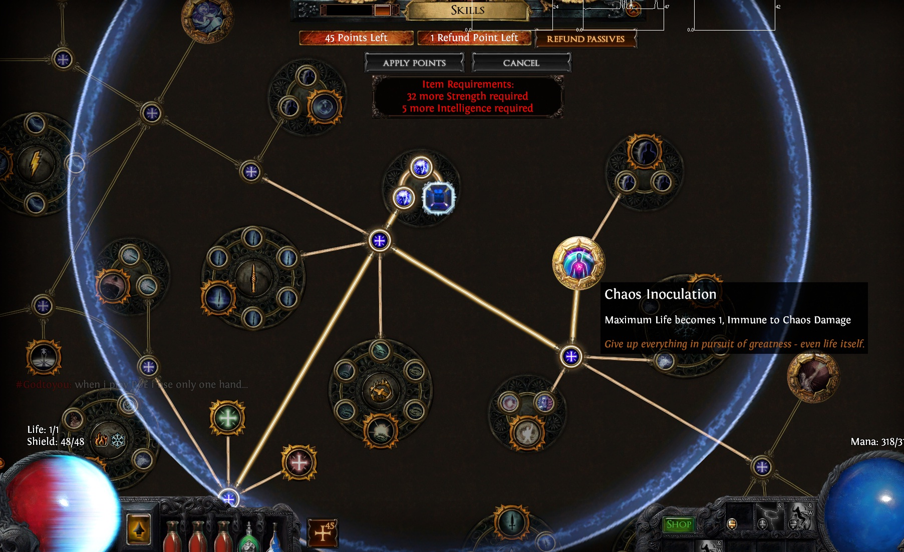 Path of Exile GGG logic
