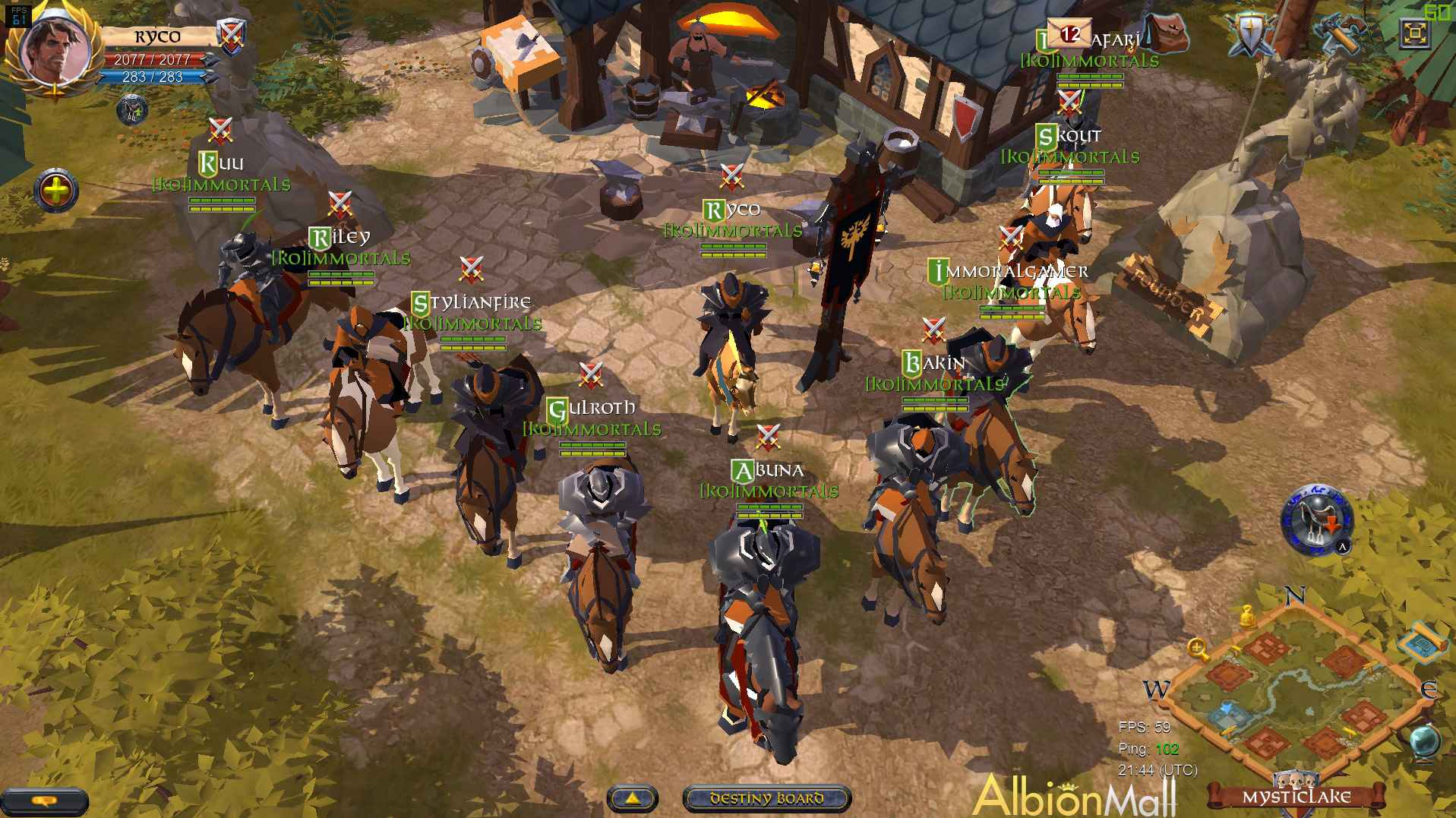 Abion Online is a sandbox open world pvp