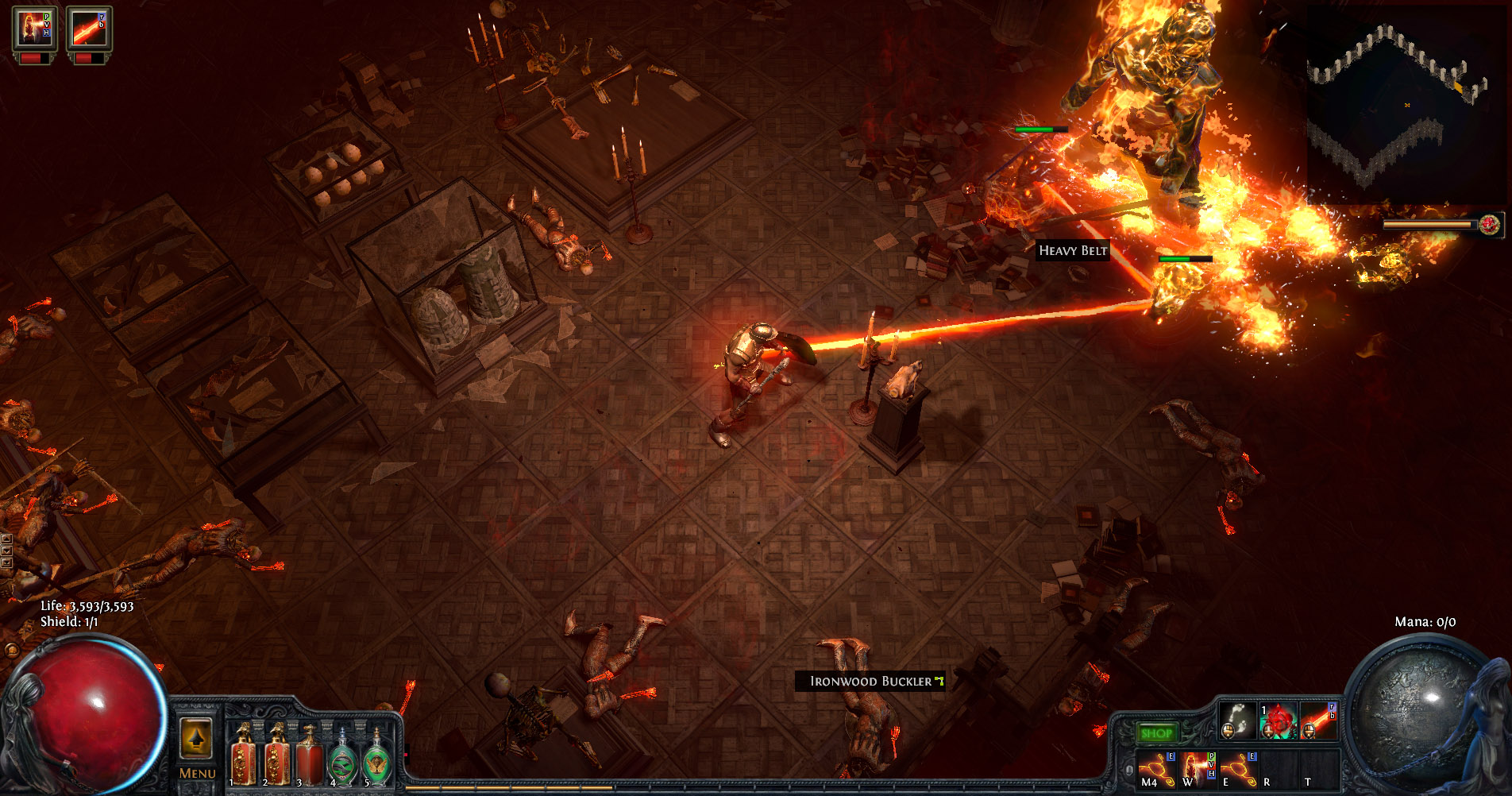 Same with giving Path of Exile bosses a resolve bar