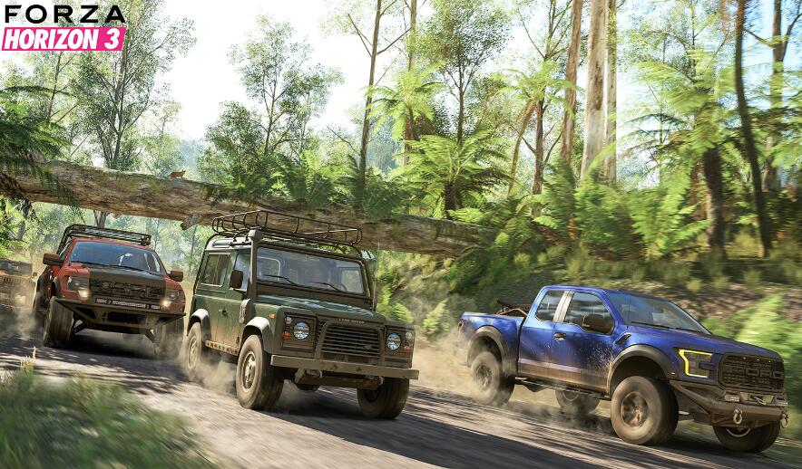 Forza Horizon 3 Features