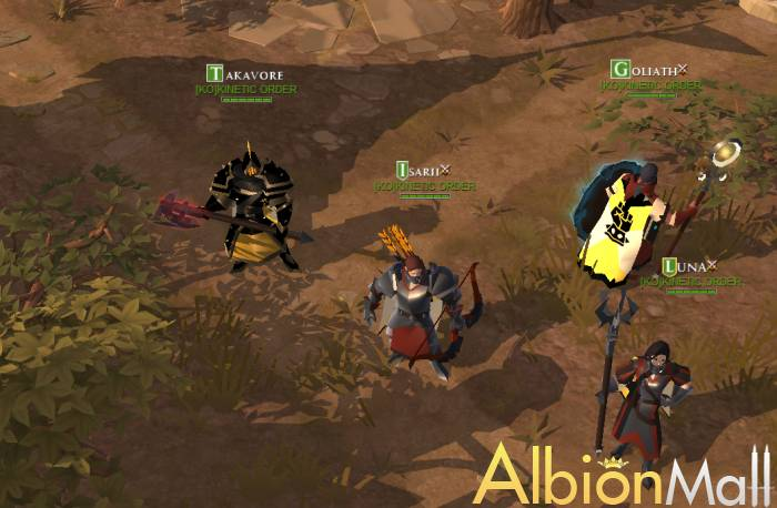 The Albion Online fantastic trip