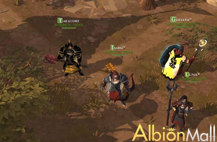 The Albion Online fantastic trip