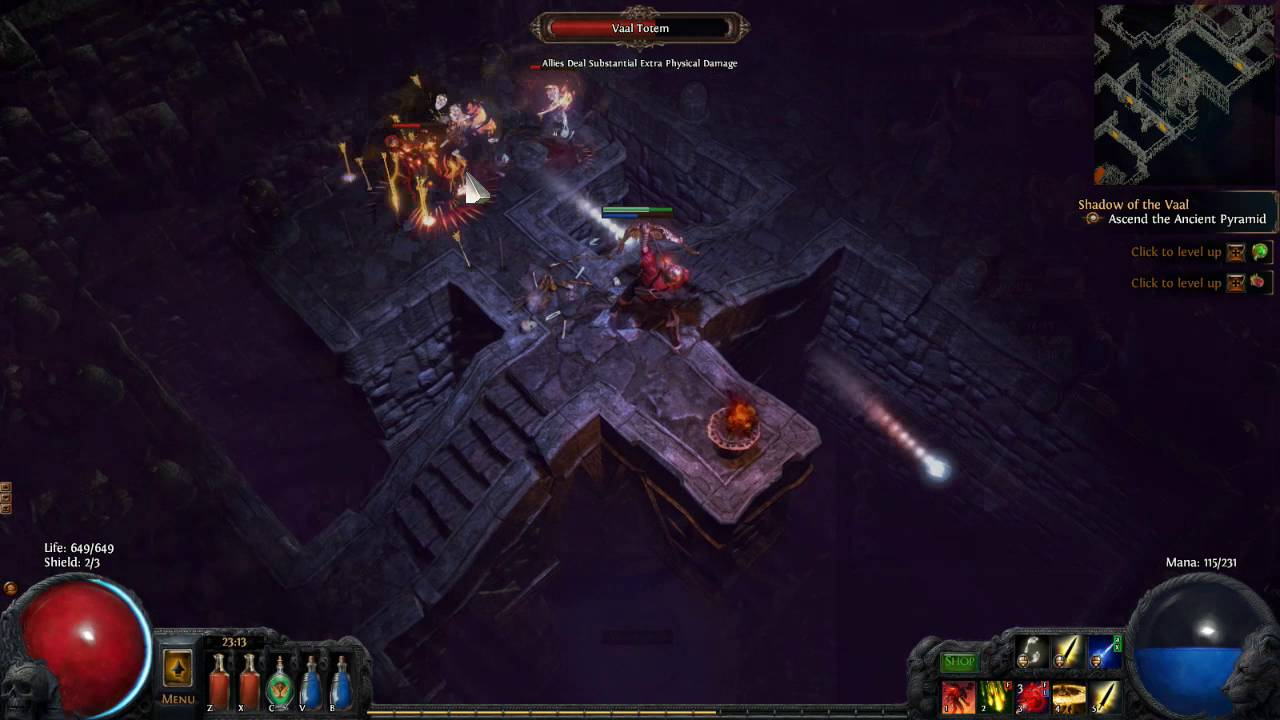 Some suggestions about Path of Exile