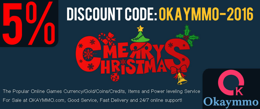 OKAYMMO.com 5% Discount for Christmas and new year