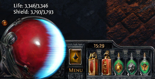 I think anything that cancels out a build is pointless in Path of Exile