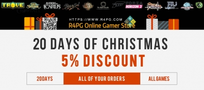 r4pg 5  coupon code for christmas and new year