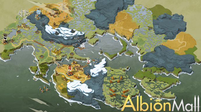Albion Online 2017 Idea -Want a little picture icon on the map of where the resources are specifically