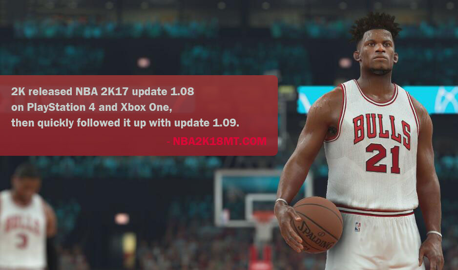 NBA 2K17 Update 1.09 Patch Notes
