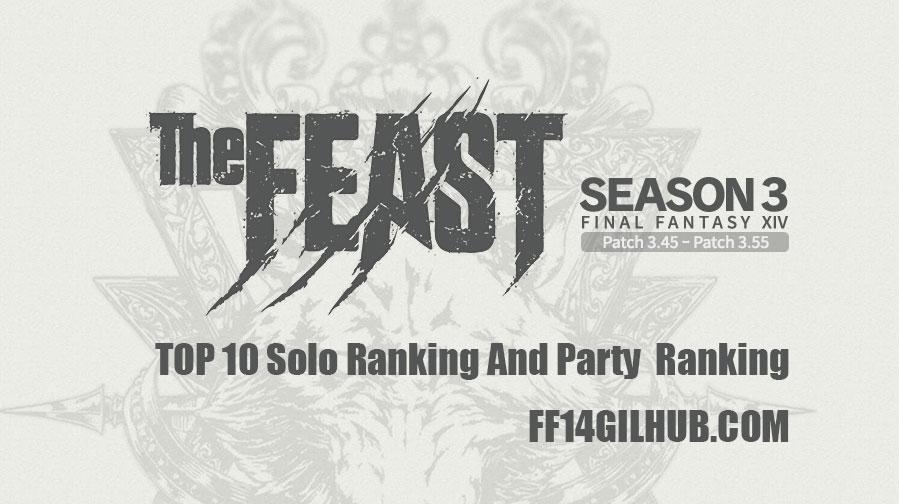 FFXIV The Feast Season 3 Top 10 Ranking