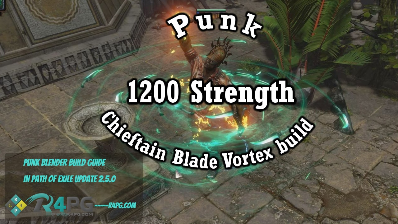 Punk Blender Build Guide - Path of Exile Update 2.5.0