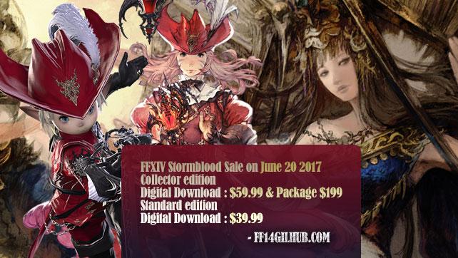 FINAL FANTASY XIV: Stormblood sale on june 20 2017