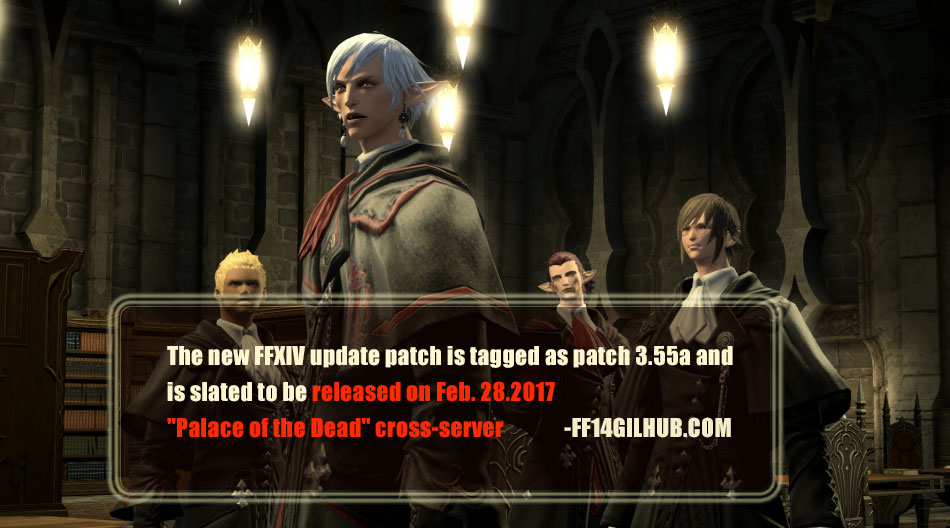 ffxiv update patch 3.55a is slated to be released on Feb. 28
