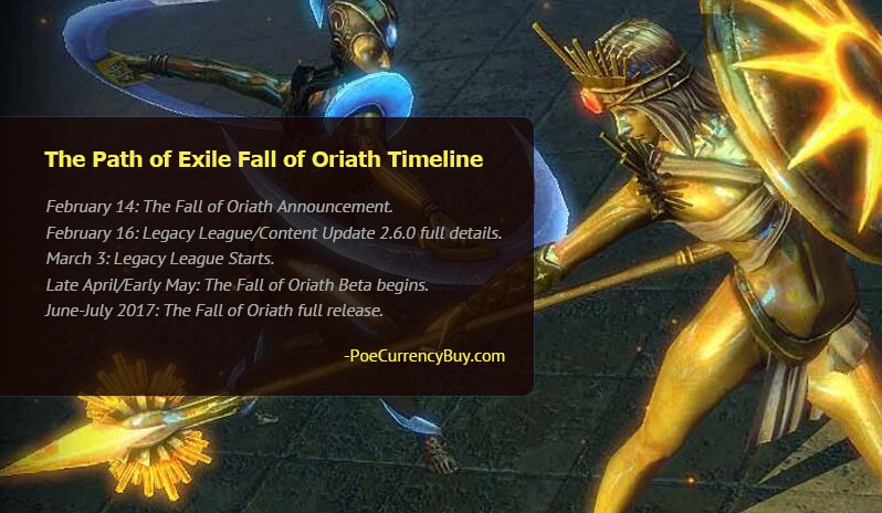 The Path of Exile Fall of Oriath