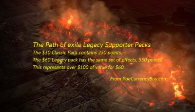 The Poe Legacy Supporter Packs