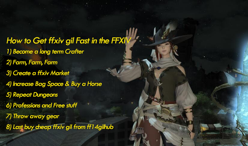 How to Get ffxiv gil Fast in the Final Fantasy XIV